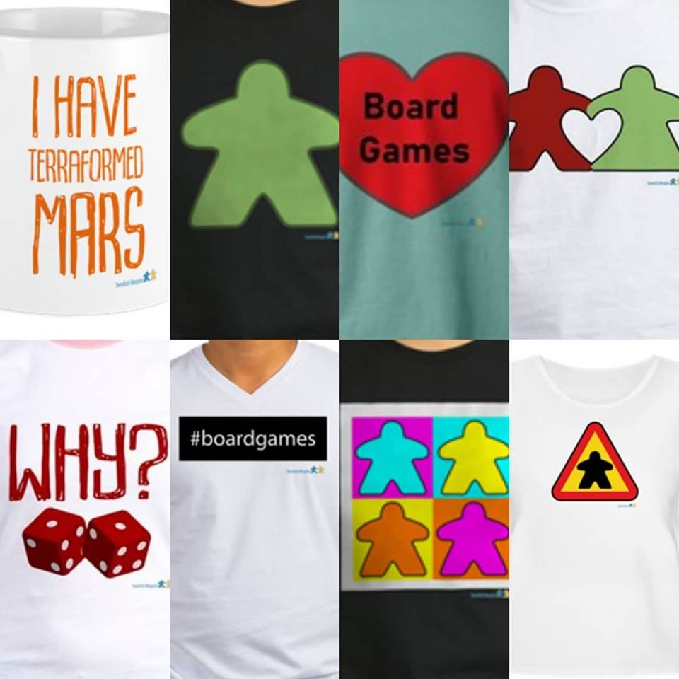 T-shirts from SwedishMeeples